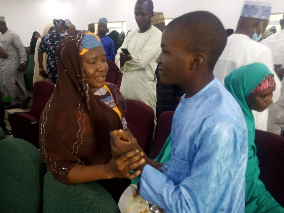Joy as Parents are Reunited with Kidnapped Nigerian Students After Three Months
