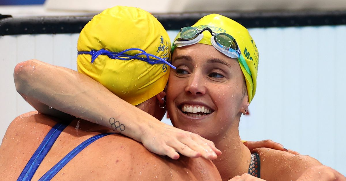 Swimming-Dressel and McKeon complete sprint gold doubles