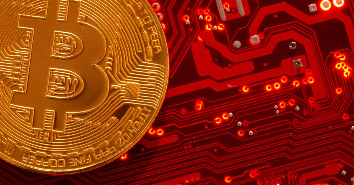 Bitcoin edges off all-time high but momentum for more gains this year seen intact - Reuters