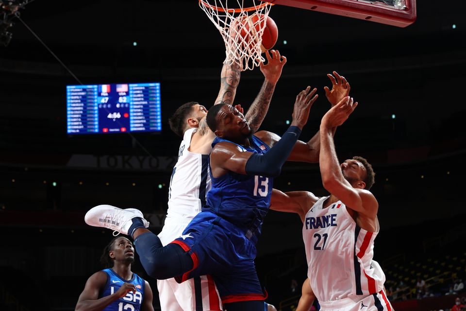 France Beats Team USA Men's Basketball Team 83-76 in Opening Game, Ending USA's 25-Game Win Streak Dating Back to the 2004 Games