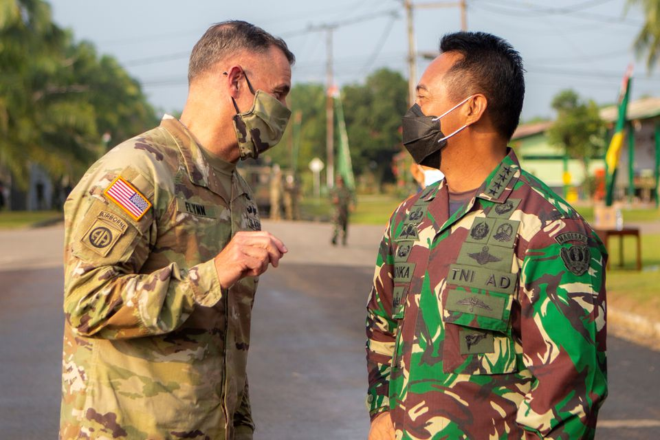 Indonesia Hails 'new era' for U.S. Ties, Hosts Biggest Joint Military Drills