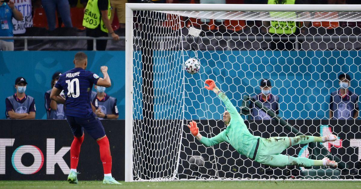 Swiss beat France on penalties to reach Euro 2020 last eight
