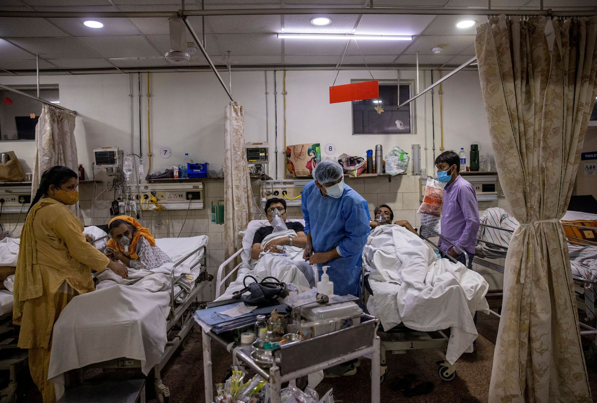 India Eases Coronavirus Restrictions as New Infections Drop to Lowest in Two Months