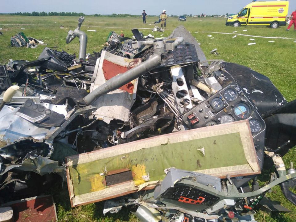 Four Killed, Four Badly Injured After Small Plane Crashes in Southwestern Siberia
