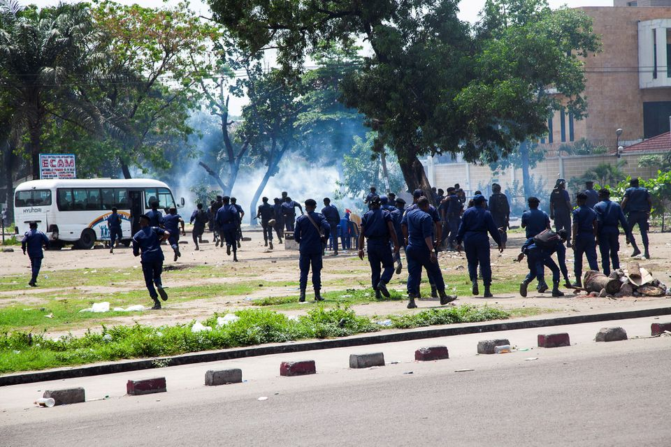 Congo Protests Turn Violent, Te as Lawmakers Select Electoral Commission Chief