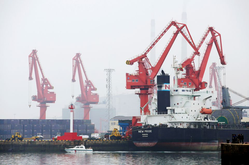 Oil Spill Reported Off China's Qingdao Port After Tanker and Bulk Carrier Collide in Heavy Fog