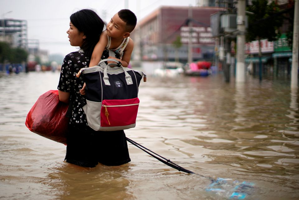 Many Migrant Workers Stranded in Chinese Sities hit by floods
