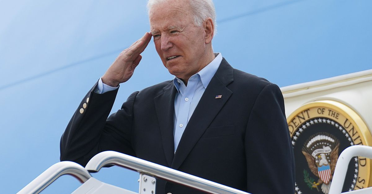President Biden Arrives in U.K. for G7 Summit