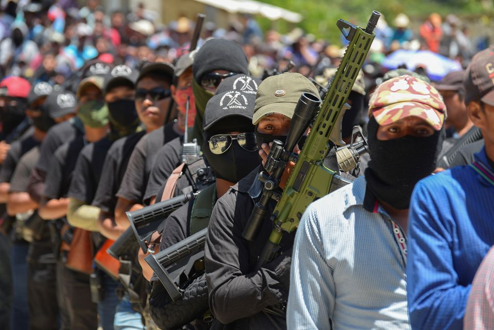New Self-defense Militia Appears in Chiapas, Mexico to Fight Organized Crime Gangs