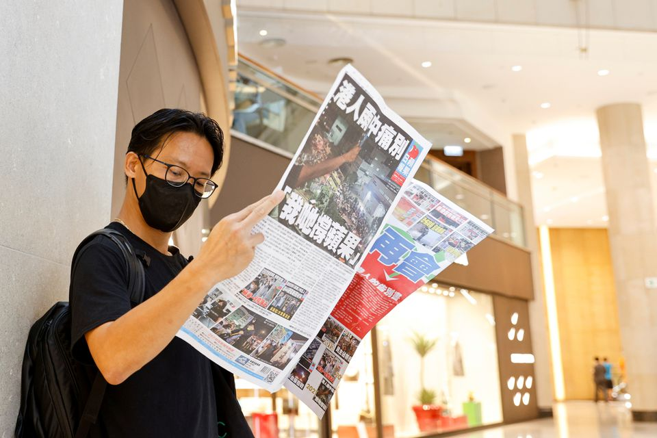 """China Makes List of 100 Instances of U.S. """"Interference"""" in Hong Kong"""