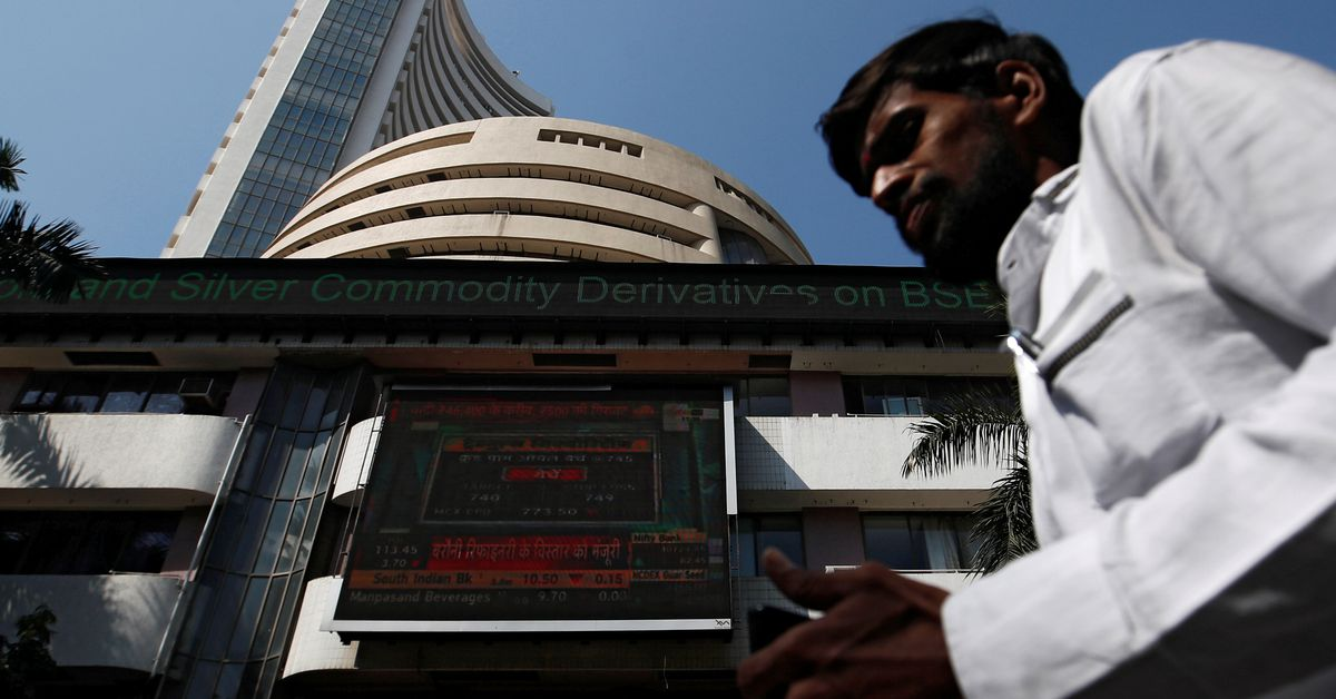 Indian shares gain on SBI boost, decline in daily COVID-19 cases - Reuters