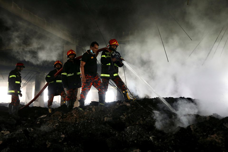 Owner of Bangladesh Food-processing Factory Arrested Over Fire that Killed 52 Workers