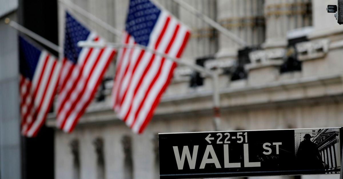 U.S. stocks slip, dollar has worst week in almost two months