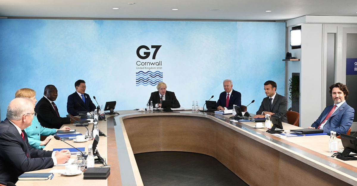 To counter China, G7 leaders agree increased climate finance - Reuters