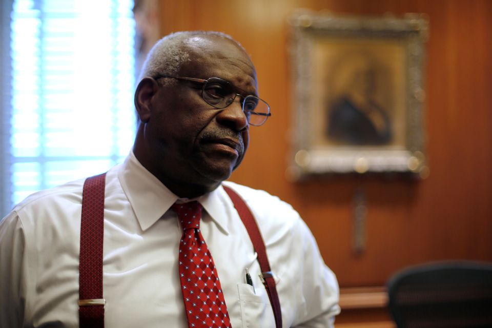 Clarence Thomas Blasts Media for Coverage for Painting Justices as Politicians