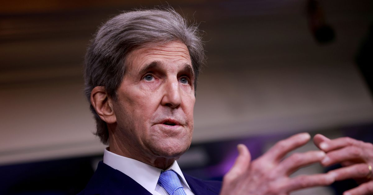 reuters.com - U.S. climate envoy Kerry to travel to UK, Italy for climate talks