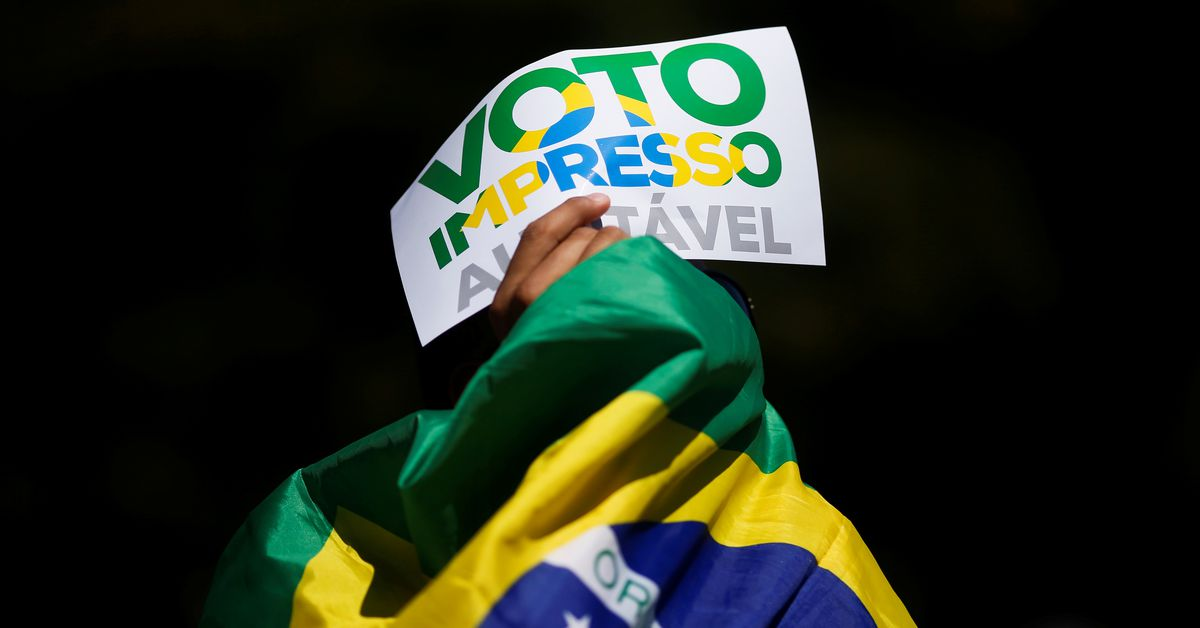 Bolsonaro backers push for change to Brazil's voting system - Reuters
