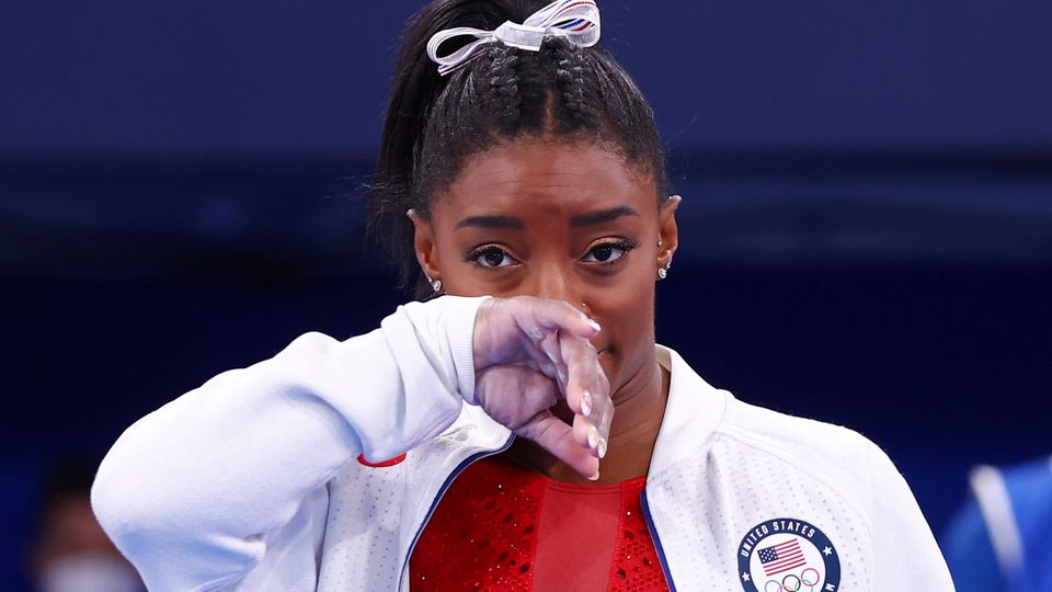 Simone Biles Hints that Sexual Abuse by Larry Nassar is Behind her Mental Health Issues and Withdrawal from the Individual All-around as she Retweets Powerful Message from Fellow Gymnast